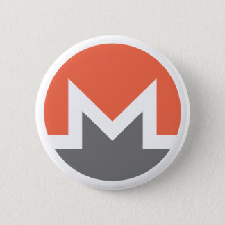 Badge Rond 5 Cm Monero (xmr)
