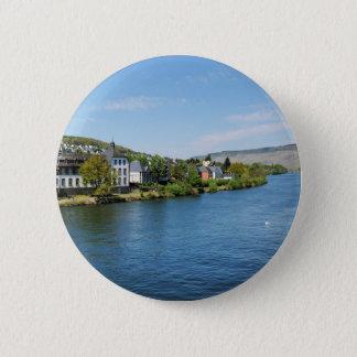 Badge Rond 5 Cm Moselle dans les Bernkastel-Kues