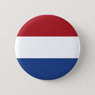 Badge Rond 5 Cm Motif patriotique de Netherland Hollande
