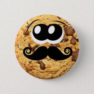 Badge Rond 5 Cm Moustache mignonne à la mode originale fraîche de