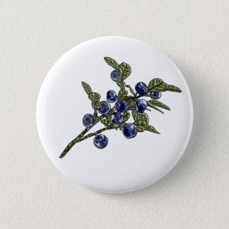 Badge Rond 5 Cm Myrtille