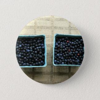 Badge Rond 5 Cm Myrtilles
