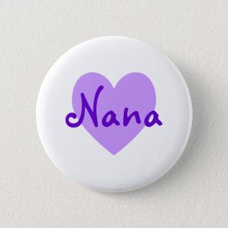 Badge Rond 5 Cm Nana dans le pourpre