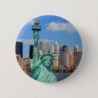 BADGE ROND 5 CM NEW YORK CITY