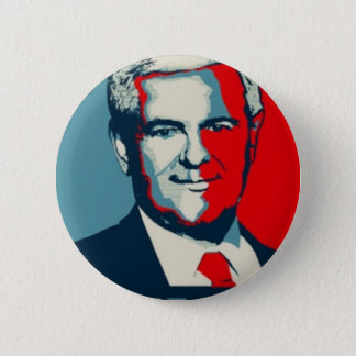 Badge Rond 5 Cm Newt Gingrich 2012