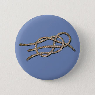 Badge Rond 5 Cm Noeud solitaire - bouton rond