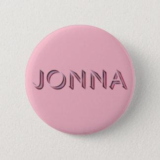 Badge Rond 5 Cm Nom de bouton d'insigne de Jonna bon marché