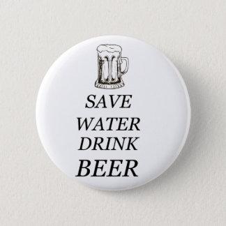 Badge Rond 5 Cm Nourriture de boissons de bière