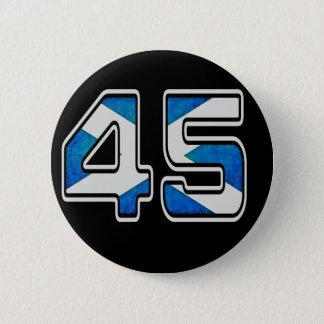 Badge Rond 5 Cm Nous sommes l'insigne de 45% (foncé)