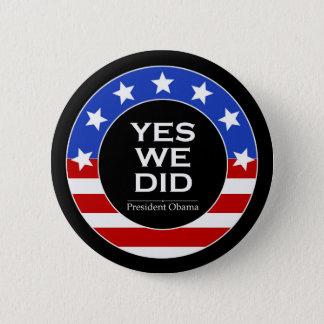 Badge Rond 5 Cm O oui nous avons fait des étoiles - bouton