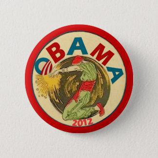 Badge Rond 5 Cm Obama 2012