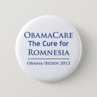Badge Rond 5 Cm Obamacare est le traitement pour Romnesia !