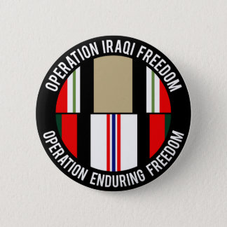 BADGE ROND 5 CM OEF - OIF