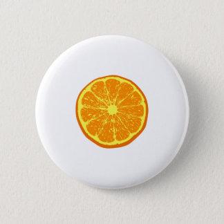 Badge Rond 5 Cm Orange :