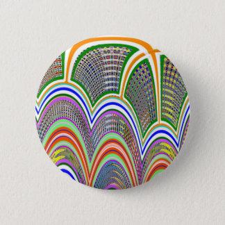 Badge Rond 5 Cm OREILLETTE à la BAIE : Motif graphique par Navin