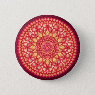 Badge Rond 5 Cm Ornement ethnique tribal rond décoratif