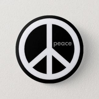 Badge Rond 5 Cm paix