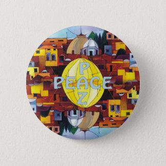 Badge Rond 5 Cm Paix-Paz
