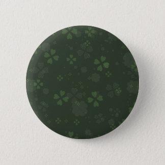 Badge Rond 5 Cm Papier de shamrock