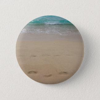 Badge Rond 5 Cm paradis tropical