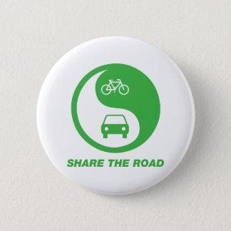 Badge Rond 5 Cm Partagez la route