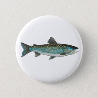 Badge Rond 5 Cm Pêche de char du Groenland, ichtyologie, pêchant