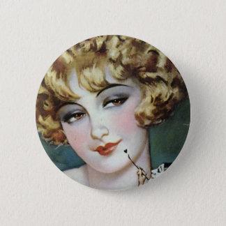 Badge Rond 5 Cm Peinture d'aileron