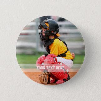 Badge Rond 5 Cm Personnalisez la photo de sports