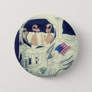 Badge Rond 5 Cm Personnes de l'espace