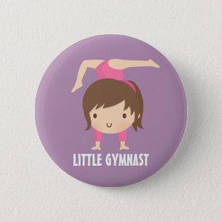 Badge Rond 5 Cm Petit bouton mignon de gymnastique de fille de