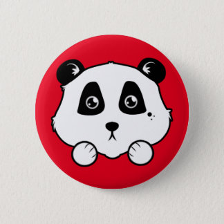 Badge Rond 5 Cm Petit panda