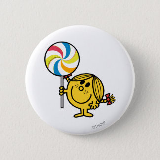 Badge Rond 5 Cm Petite lucette géante de Mlle Sunshine  