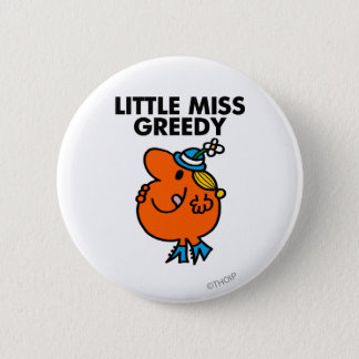 Badge Rond 5 Cm Petite Mlle Greedy Licking Her Lips