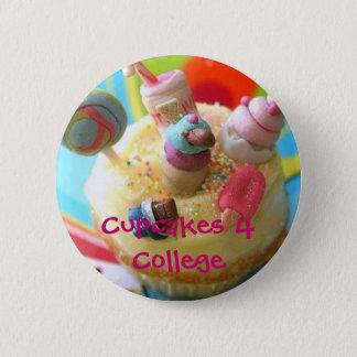 Badge Rond 5 Cm petits gâteaux, cupcake2, université des petits