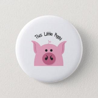 Badge Rond 5 Cm Peu porcin