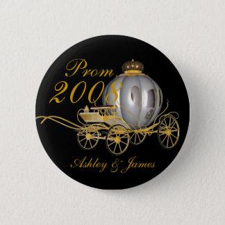 Badge Rond 5 Cm Pin 2008 royal de bal d'étudiants