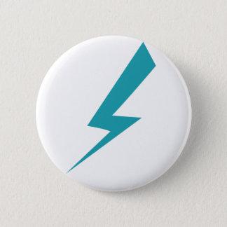 Badge Rond 5 Cm Pin de boulon de foudre