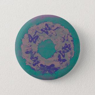 """Badge Rond 5 Cm Pin de bouton de vacances """"de guirlande de"""