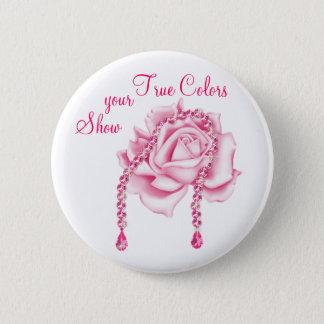Badge Rond 5 Cm Pin de conscience de cancer du sein
