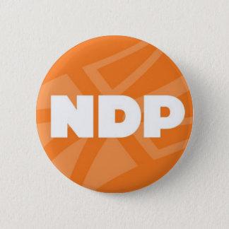 Badge Rond 5 Cm Pin de Terre-Neuve et de Labrador NDP