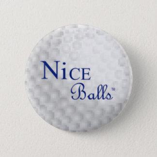 Badge Rond 5 Cm Pin gentil de boules