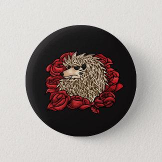 Badge Rond 5 Cm Pin grincheux de hérisson