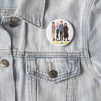 Badge Rond 5 Cm Pin skam