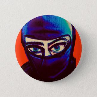 Badge Rond 5 Cm Pin sournois de Ninja