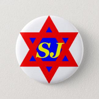 Badge Rond 5 Cm Pin superbe de juif