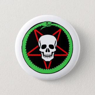 Badge Rond 5 Cm Pin-Sur l'insigne - arts foncés