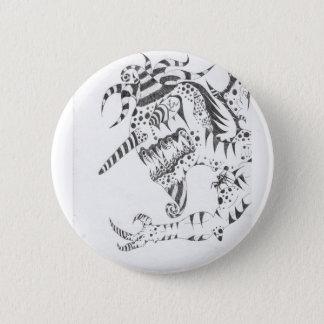 Badge Rond 5 Cm Pin tordu de Tedd