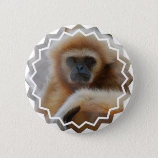 Badge Rond 5 Cm Pin triste de gibbon
