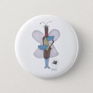 Badge Rond 5 Cm Pin vert-bleu de mode de pseudo célébrité de SBM