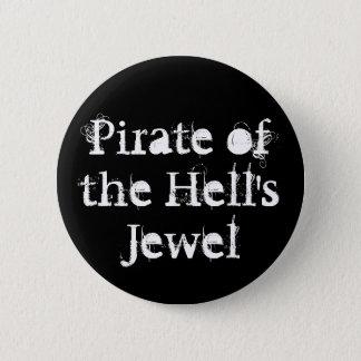 Badge Rond 5 Cm Pirate du bouton du bijou de l'enfer